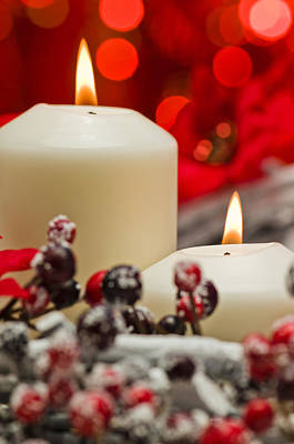 Photograph - Winter Candles by Ulrich Schade