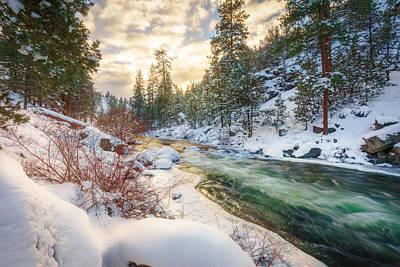 Studio Grafika Patterns - Winter Canyon by S A Littau
