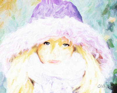 Winter  Art Print by Chris Armytage