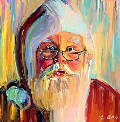 Digital Art - Winter Christmas Santa Claus by Yury Malkov
