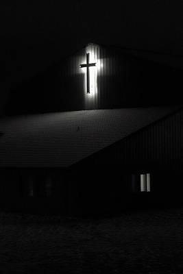 Photograph - Winter Church 1 by Daniel Hagerman