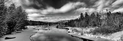 Photograph - Winter Clouds by David Patterson