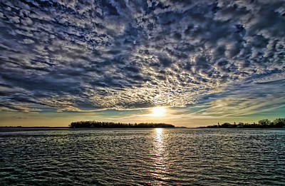 Photograph - Winter Clouds by HH Photography of Florida