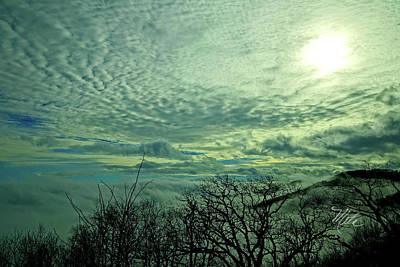 Photograph - Winter Clouds by Meta Gatschenberger