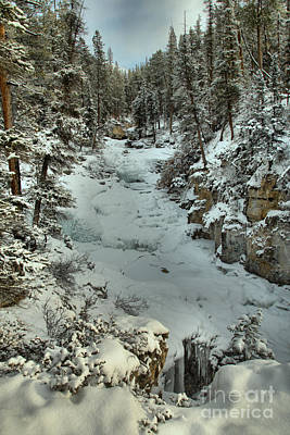Photograph - Winter Clouds Over Beauty Creek by Adam Jewell