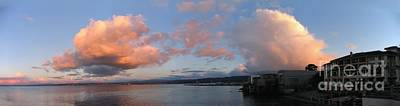 Photograph - Winter Clouds Over Monterey Bay by James B Toy