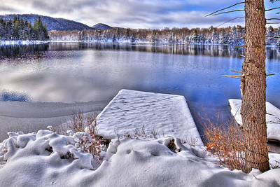 Photograph - Winter Colors On West Lake by David Patterson