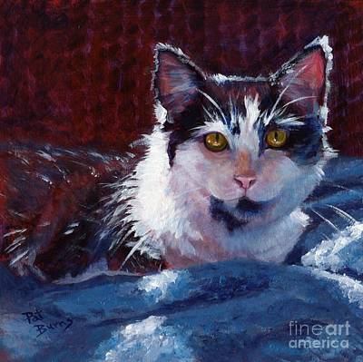 Painting - Winter Comfort by Pat Burns