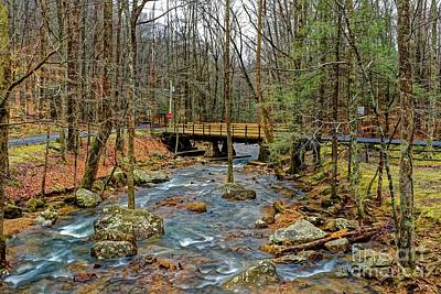 Photograph - Winter Creek by Paul Mashburn