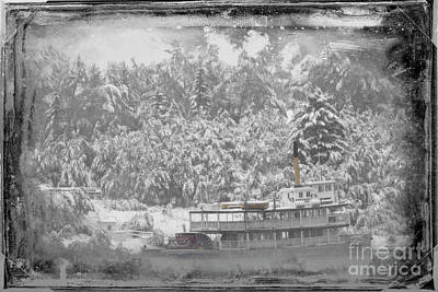Photograph - Winter Cruise by Brad Allen Fine Art