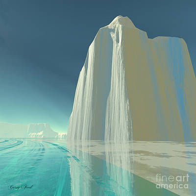 Winter Crystal Art Print by Corey Ford