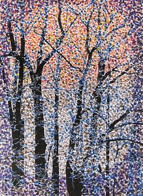 Drawing - Winter Dawn  by Angela Davies