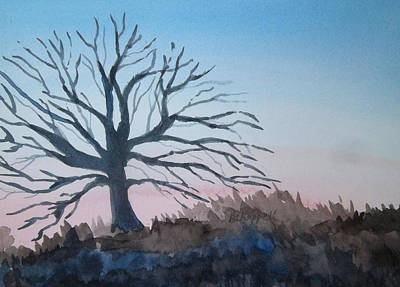 Painting - Winter Dawn by Becky Chappell