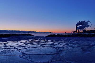 Photograph - Winter Dawn by CJ Schmit