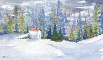 Painting - Winter Day by Jamie Frier