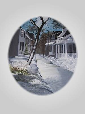 Painting - Winter Day by Kathleen Romana