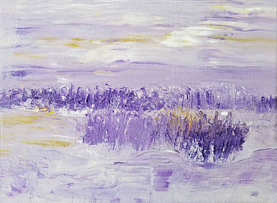 Painting - Winter Day by Maura Satchell