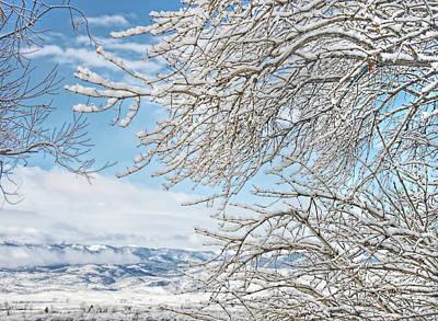 Photograph - Winter Day Montana by Jennie Marie Schell