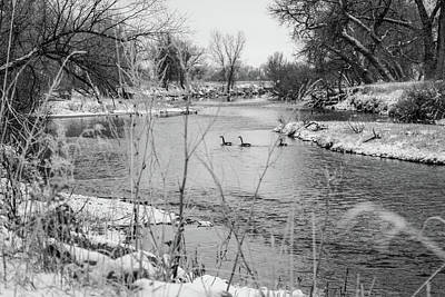 Photograph - Winter Day by Tyson Kinnison