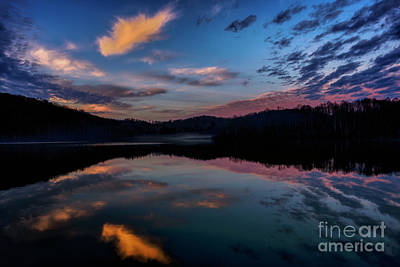 Photograph - Winter Daybreak On The Lake by Thomas R Fletcher