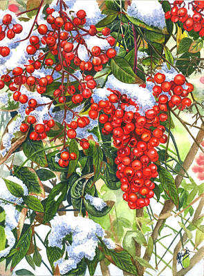 Painting - Winter Delight by Swati Singh