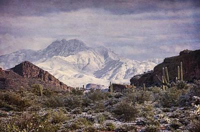 Photograph - Winter Done Southwest Style  by Saija Lehtonen