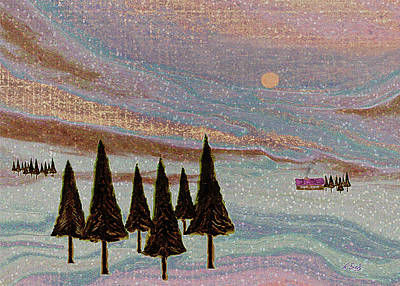 Winter Dream Art Print by Gordon Beck