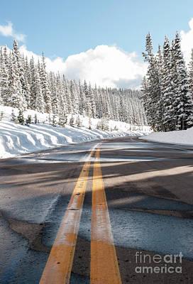 Photograph - Winter Drive by Juli Scalzi