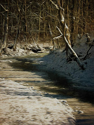 Digital Art - Winter by Elijah Knight