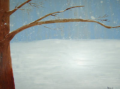 Painting - Winter by Ellen Beauregard