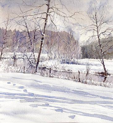 Painting - Winter by Erik Lundgren