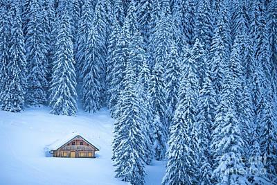 Winter Escape Art Print by JR Photography