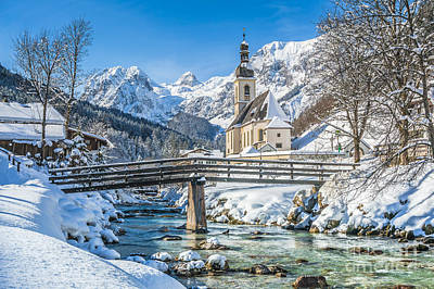 St Sebastian Photograph - Winter Essentials by JR Photography