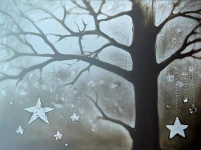 Painting - Winter Fairytale by Elena Vedernikova