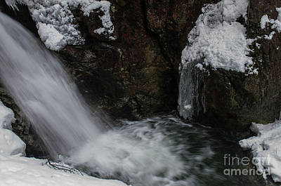 Photograph - Winter Falls by Rod Wiens