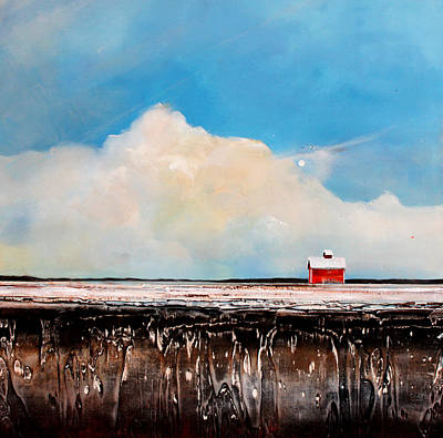 Winter Fields Art Print by Toni Grote