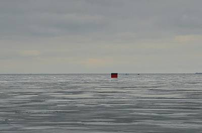 Digital Art - Winter Fishing  by Lyle Crump