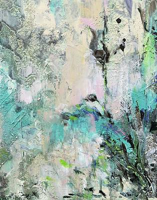 Painting - Winter Floral by Karen Ahuja