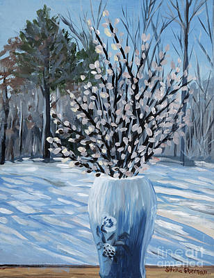 Painting - Winter Floral by Stella Sherman