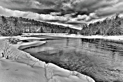 Photograph - Winter Flow by David Patterson