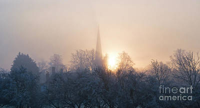 Photograph - Winter Fog Burford by Tim Gainey