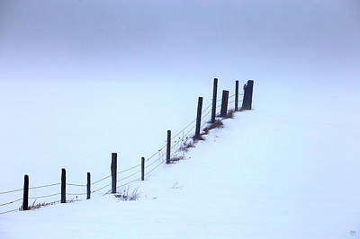 Photograph - Winter Fog by John Meader