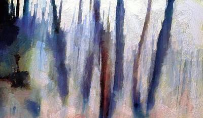 Painting - Winter Forest by Lelia DeMello