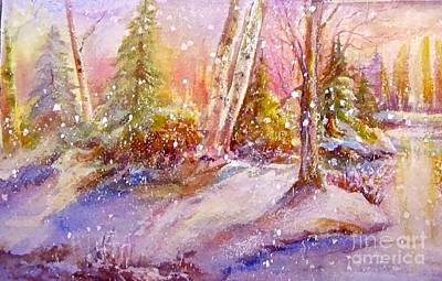 Painting - Winter Forest  by Patricia Schneider Mitchell