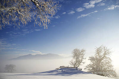 Mountain Landscape Rights Managed Images - Winter Royalty-Free Image by Franz Fotografer