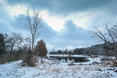 Photograph - Winter Freeze by Garry McMichael