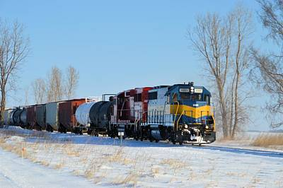 Photograph - Winter Freight by Bonfire Photography