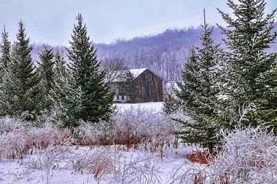 Digital Art - Winter Frost by Trey Foerster