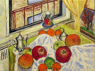Winter Fruits Art Print by Vladimir Kezerashvili