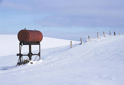 Photograph - Winter Fuel by Doug Davidson